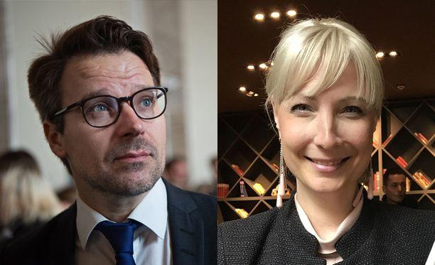 Vihreiden Ville Niinistöstä ja perussuomalaisten Laura Huhtasaaresta povataan äänirohmuja.