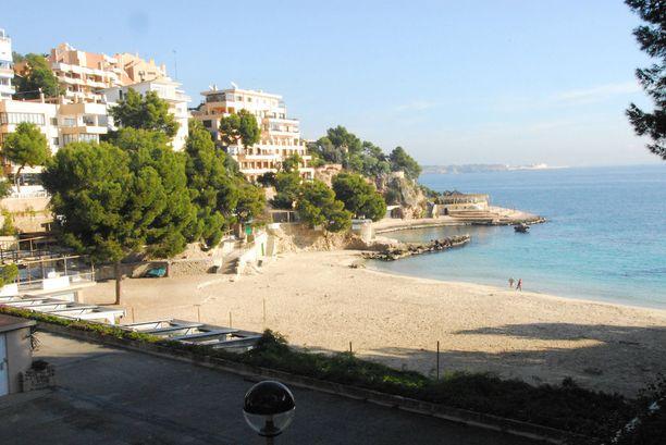 Cala Mayor on suosittu rantalomakohde Espanjan Mallorcalla.