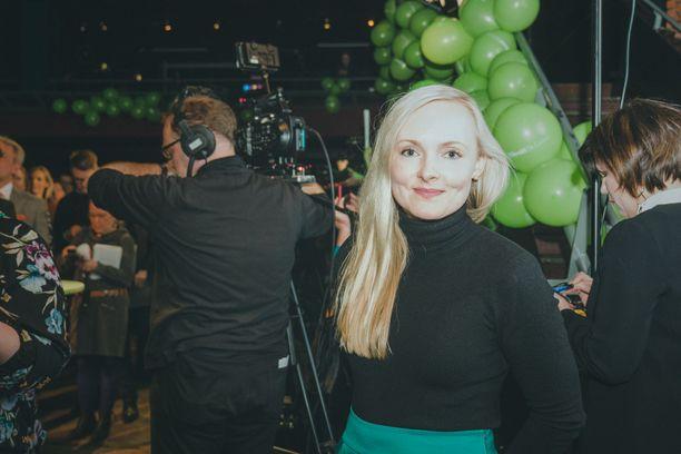 Maria Ohisalo lunasti paikkansa ensimmäisen kauden kansanedustajana.