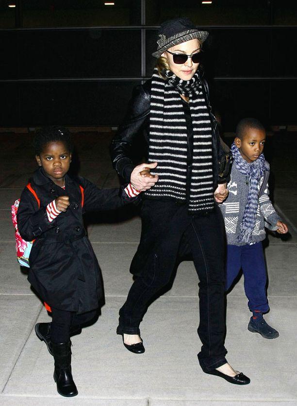 Madonnan adoptoimat Mercy ja David ovat kotoisin Malawista.