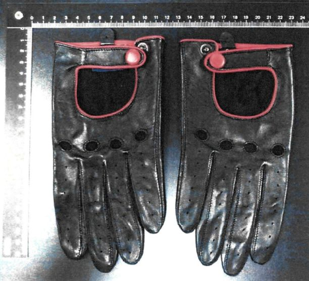 Poliisi on julkistanut jo aiemmin kuvat sarjakuristajalta takavarikoiduista nahkahansikkaista.