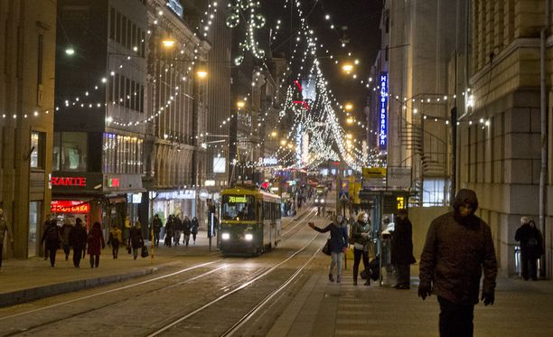 Joulua vietetään etelässä ja länsirannikolla todennäköisesti ilman lunta.