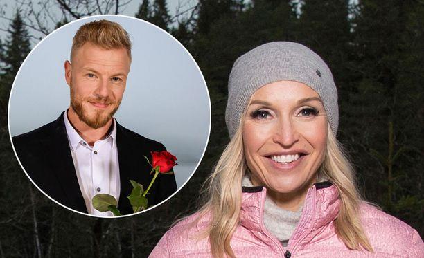 Jutta Gustafsberg ilmoitti seurustelustaan somessa.