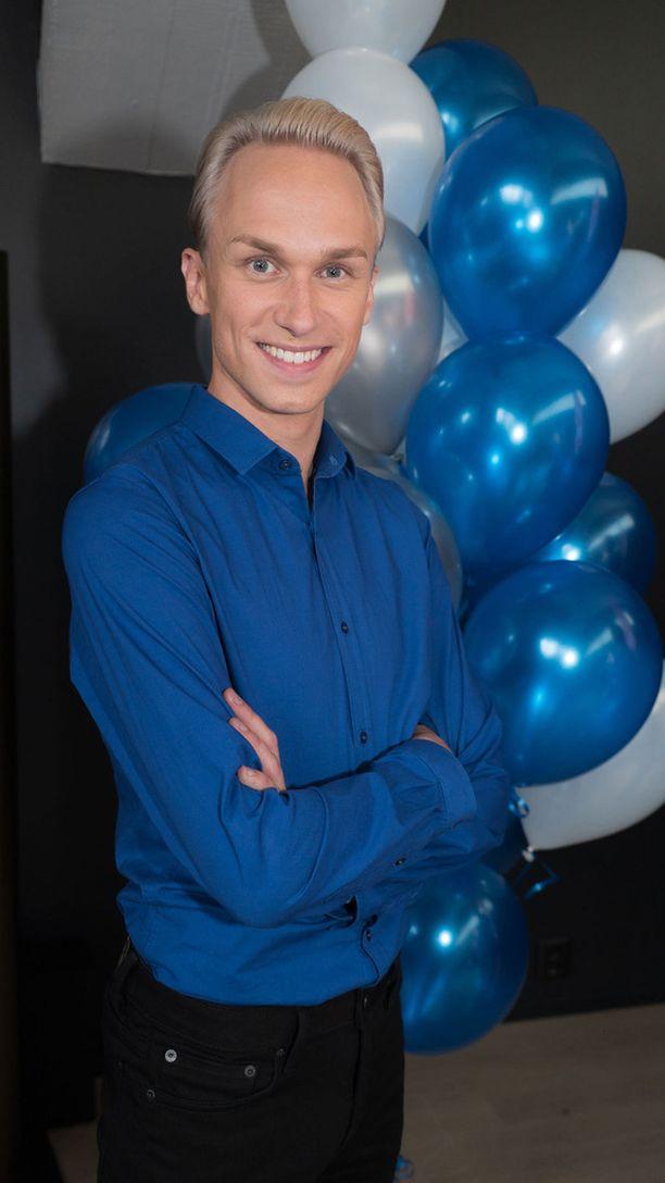 Christoffer Strandberg on yksi uuden Putous-kauden tähtinäyttelijöistä.