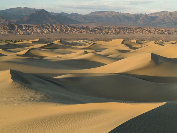 Death Valleyssa on luotettavasti mitattu maailman korkein lämpötila.