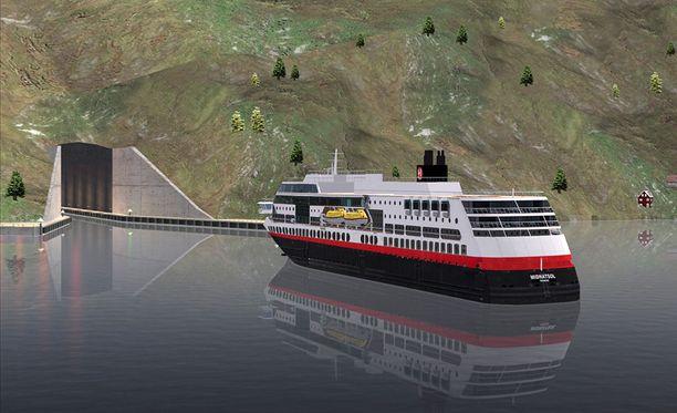 Sekä matkustajalaivat, rahtialukset että huviveneet saavat käyttää tunnelia.