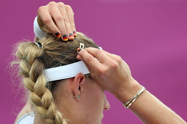 Saksan tenniksen edustaja Angelique Kerber-
