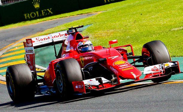 David Coulthard näki Kimi Räikkösen esityksessä positiivista.