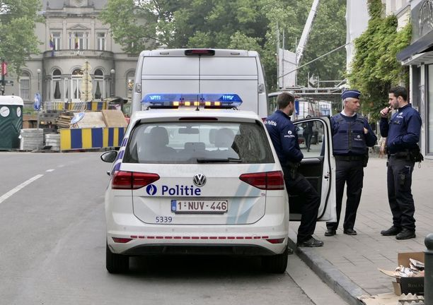 Belgialaisia poliiseja.