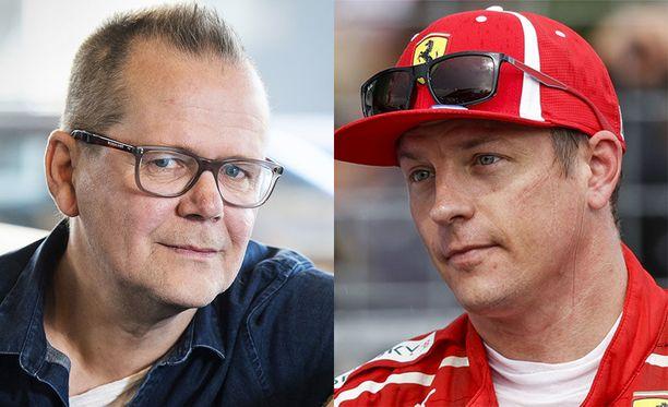 Kari Hotakaisen kirjoittama Tuntematon Kimi Räikkönen (Siltala) julkaistiin torstaiaamuna.