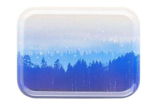 Katri Helena Suomi Finland Collection on sinivalkoinen ja tuotteissa näkyy suomalainen luonto.