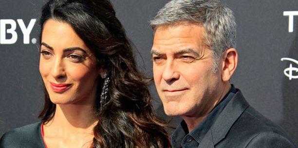 Amal ja George Clooney menivät naimisiin viime syyskuussa.