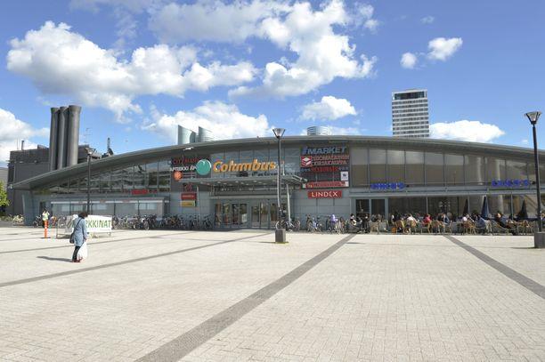 Kauppakeskus Columbus avattiin vuonna 1996 ja se sijaitsee Itä-Helsingissä. Kauppakeskuksen juuressa sijaitsee Vuosaaren metroasema.