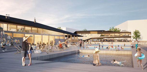 Allas Sea Pool Oulu on määrä avata jo syksyllä 2019.