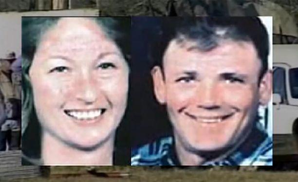 Kathy ja Danny Freemanin ruumiit löydettiin tulipalon jälkeen.