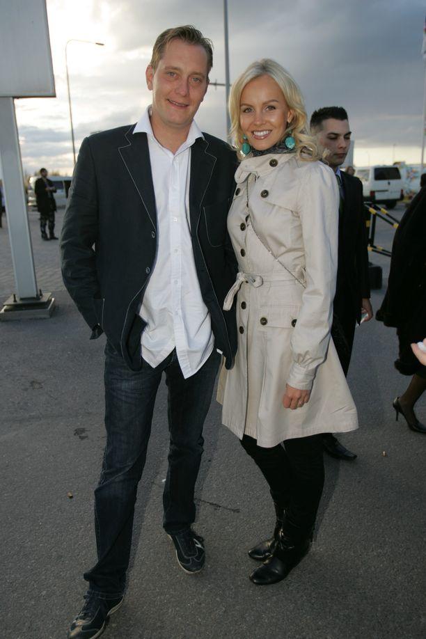 Petteri Ahomaa ja Hanna Ek vuonna 2007.