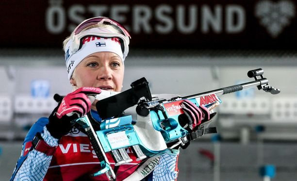 Miten Kaisa Mäkäräinen pystyy käsittelemään asettaan Östersundin pakkasessa keskiviikkona maailmancupin avauksessa?