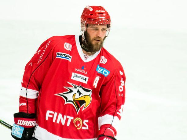 Jonne Virtanen on tahkonnut liigassa jo vuodesta 2006 lähtien.