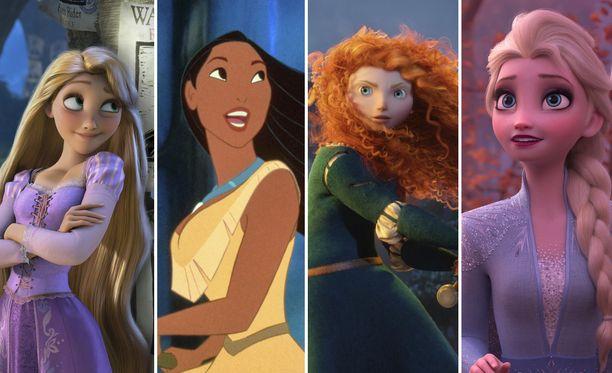 Oletko sinä Tähkäpää, Pocahontas, Merida vaiko Elsa?