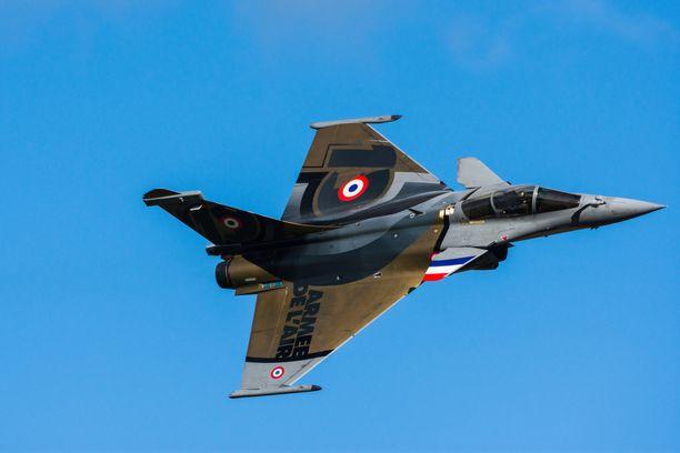Ranskalainen Rafale on yksi ehdokas myös Suomen seuraavaksi hävittäjäkoneeksi.