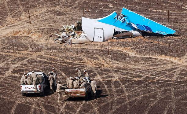 Lentoturma vaati lauantaina 244 kuolonuhria.