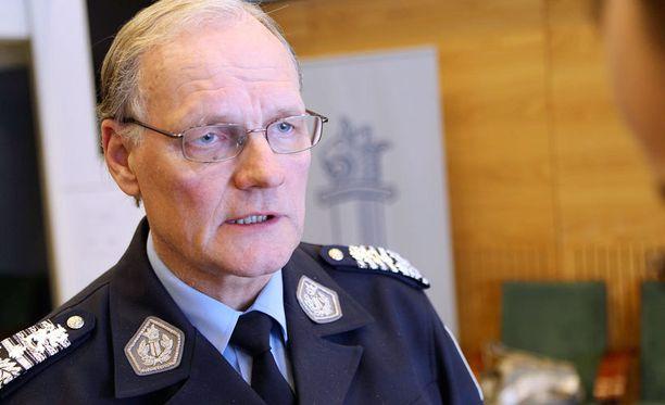Mikko Paaterolla on pitkä poliisiura takanaan.