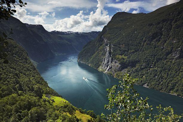 Geirangerinvuono kuuluu Unescon maailmanperintökohteisiin.