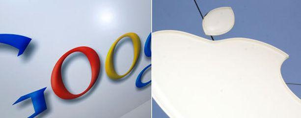 Apple voitti Googlen patenttikiistassa - ainakin tällä erää.