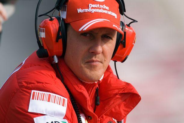 Michael Schumacher oli radalla täysin eri persoona kuin siviilissä.