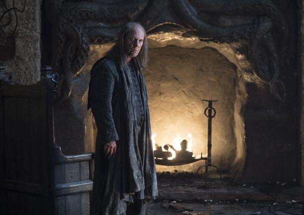 Balon Greyjoyn roolissa nähtiin Patrick Malahide.