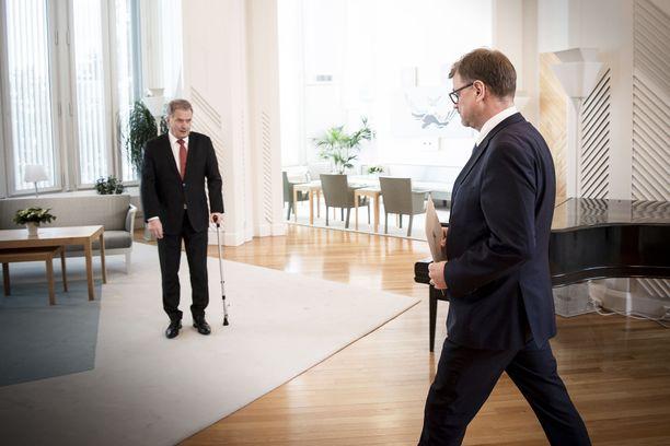 Sipilä vei hallituksen erokirjeen maaliskuussa presidentti Sauli Niinistölle.