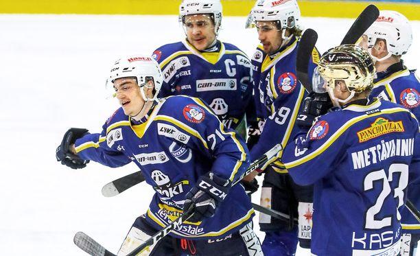 RoKi jäi täpärästi ulos Mestiksen playoffeista.