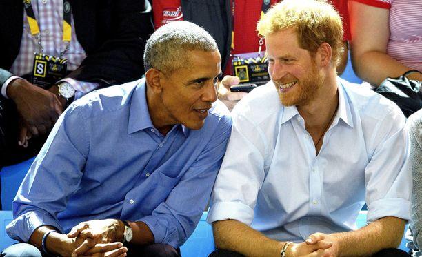 Barack Obama ja prinssi Harry seurasivat Invictus Games -urheilutapahtumaa yhdessä syyskuussa.