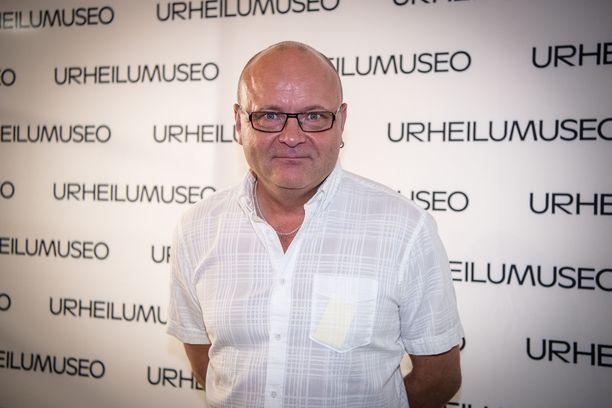 56-vuotias Tapio Suominen löysi liikunnan ilon.