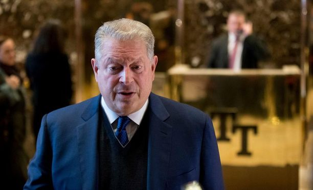 Yhdysvaltain entinen varapresidentti Al Gore tapasi maan tulevan presidentin Donald Trumpin maanantaina.