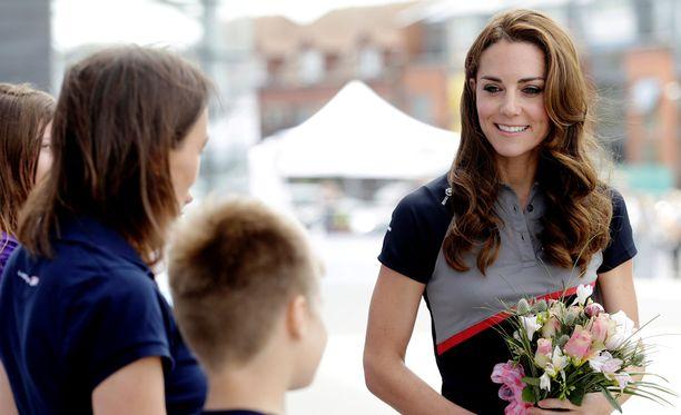 Herttuatar Catherinella on kaksoisolento Rion olympialaisissa.