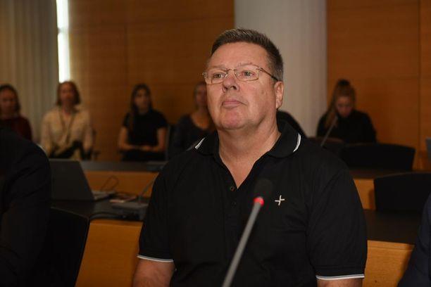 Jari Aarnio saapui oikeuden eteen maanantaina 7. syyskuuta.