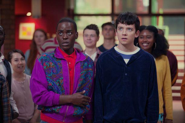 Ncuti Gatwan hahmo Eric on Otisin paras ystävä.