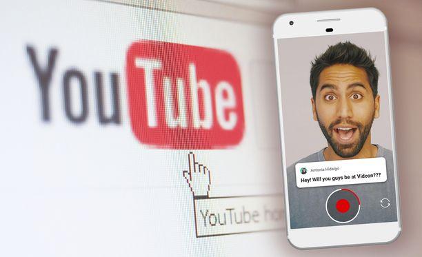 Tarinoita alkaa ilmestyä pian Youtubeen.