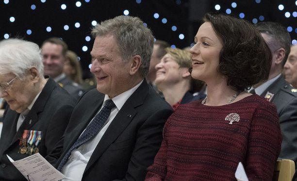 Sauli Niinistö ja Jenni Haukio saivat odotetun lapsen perjantai-iltana.