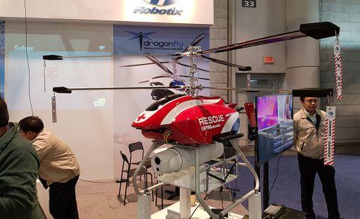RevealOne-lennokilla voidaan etsiä kadonneita ihmisiä vaikka merellä tapahtuneen onnettomuuden jälkeen.