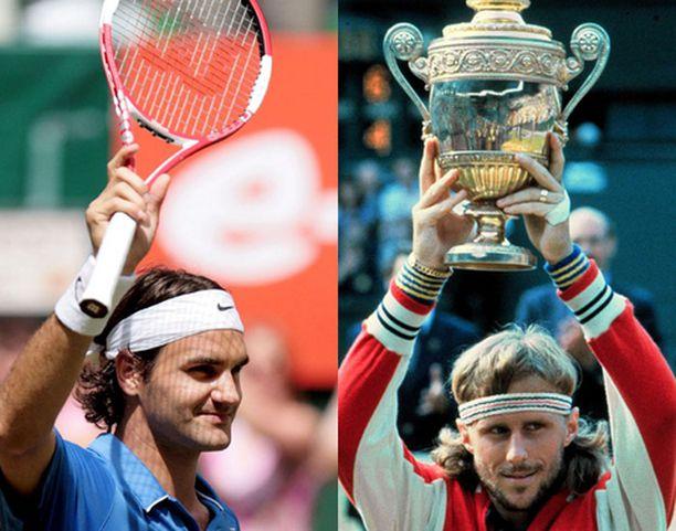 Björn Borg poistui Wimbledonin finaalista viisi kertaa voittajana.