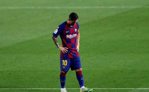 Lionel Messi antoi tuiman haastattelun - osansa sivalluksesta sai Barcelonan valmentaja