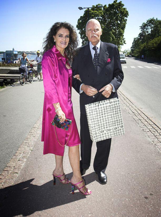 Kaarina ja Kari Kivilahti olivat naimisissa 45 vuotta.