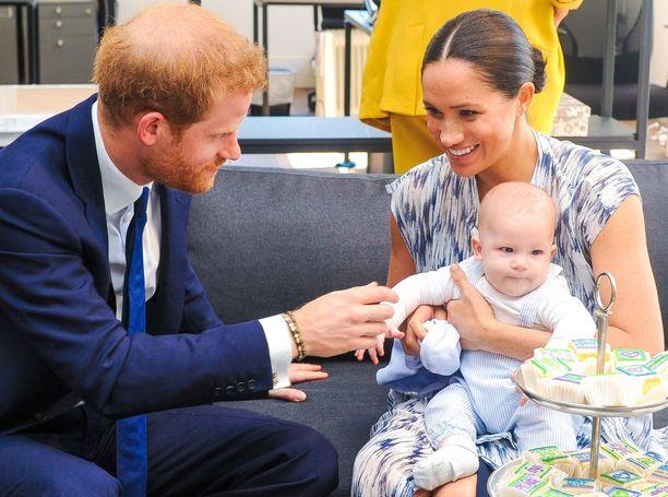 Archie on prinssi Harryn ja Sussexin herttuatar Meghanin ensimmäinen lapsi.