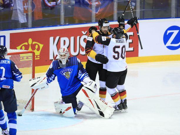 Suomi hävisi Saksalle lohkovaiheen päätöspelissä.