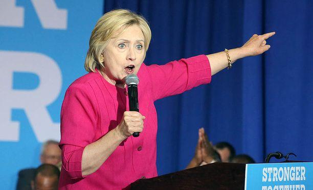 Hillary Clinton on menettänyt johtoasemansa mielipidemittauksissa.