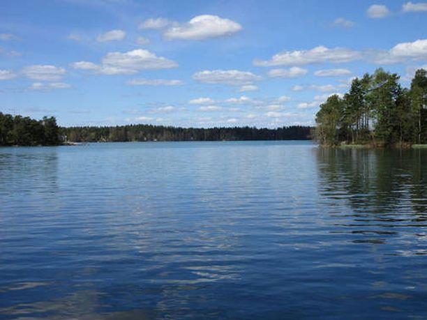 Littoistenjärven näkösyvyys oli parhaillaan jopa 30 metriä.