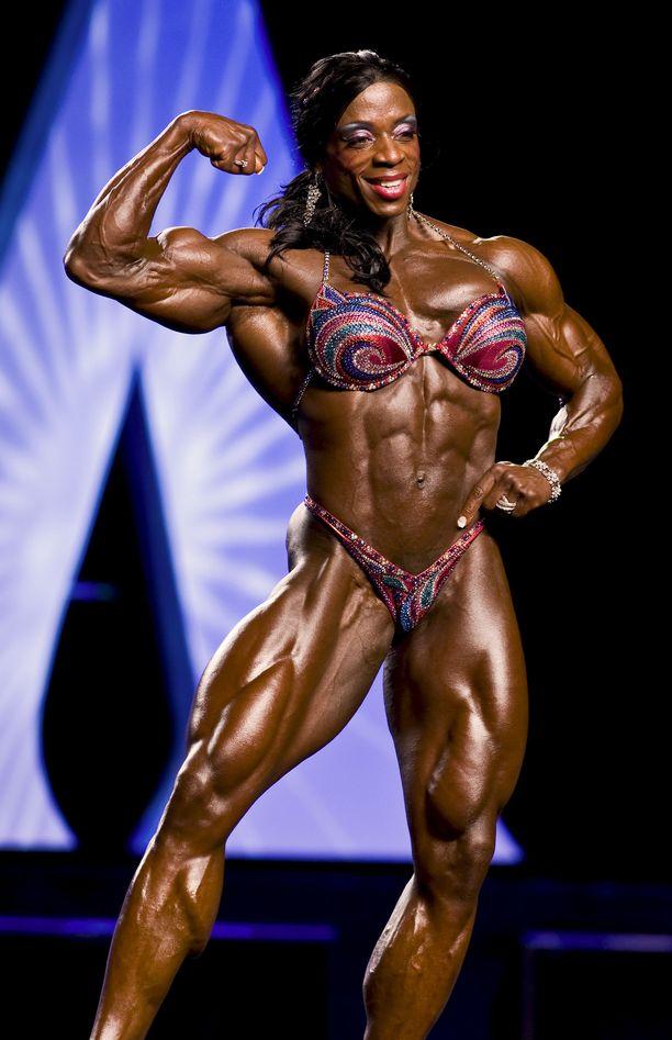 Näin Iris Kyle poseerasi vuoden 2011 Ms. Olympia -voittajaksi.