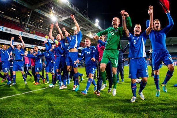 Pieni Islanti yllätti koko jalkapallomaailman venymällä MM-jatkokarsintaan